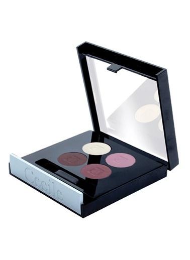 Matte Quatro Eyeshadow   (4'Lu Far)   806-Cecile